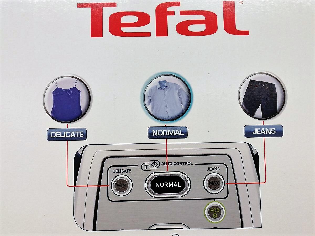 Tefal Dampfbügelstation in der Verpackung